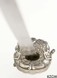Zilveren eredegen van Dominicus de Virieu (KZGW inv.nr 1791)