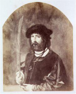 Zelandia Illustrata IV-160/9. Pieter Parduyn.Negentiende-eeuwse foto van een schilderij. Hoog 12 cm, breed 9,5 cm.In bruikleen bij het Zeeuws Archief.