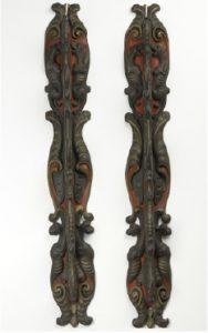 G 2739. Wapenrek afkomstig vanPopkensburg, midden zeventiende eeuw.In bruikleen bij het Zeeuws Museum.
