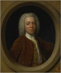 G 1559. Portret van Jacob van Citters (1708-1792) doorPhilips van Dijk (1680-1753).Olieverf op doek, hoog 37 cm, breed 33 cm.In bruikleen bij het Zeeuws Museum.