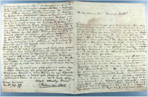 Hs. 1071, brief d.d. 13 juli 1784 van J. Verheye van Citters aan J. Ermerins.In bruikleen bij de Zeeuwse Bibliotheek.