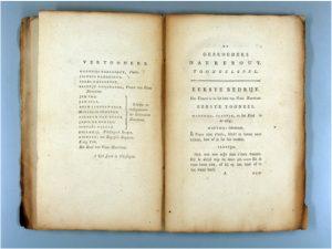ZB 1078 C34Adriaan Loosjes Pz, De gebroeders Naerebout, 1792.Toneelstuk, geschenk van de auteur aan het Zeeuwsch Genootschap der Wetenschappen.In bruikleen bij de Zeeuwse Bibliotheek.