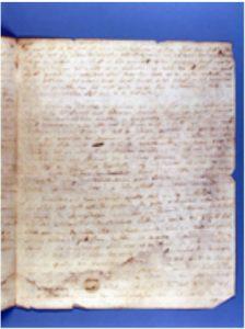 Hs. 2281Brief van Jacobus Bellamy aan Gabriel Manne, Vlissingen, 24 en 26 juli 1779.Bijna geheel onleesbaar door waterschade 1940.In bruikleen bij de Zeeuwse Bibliotheek.